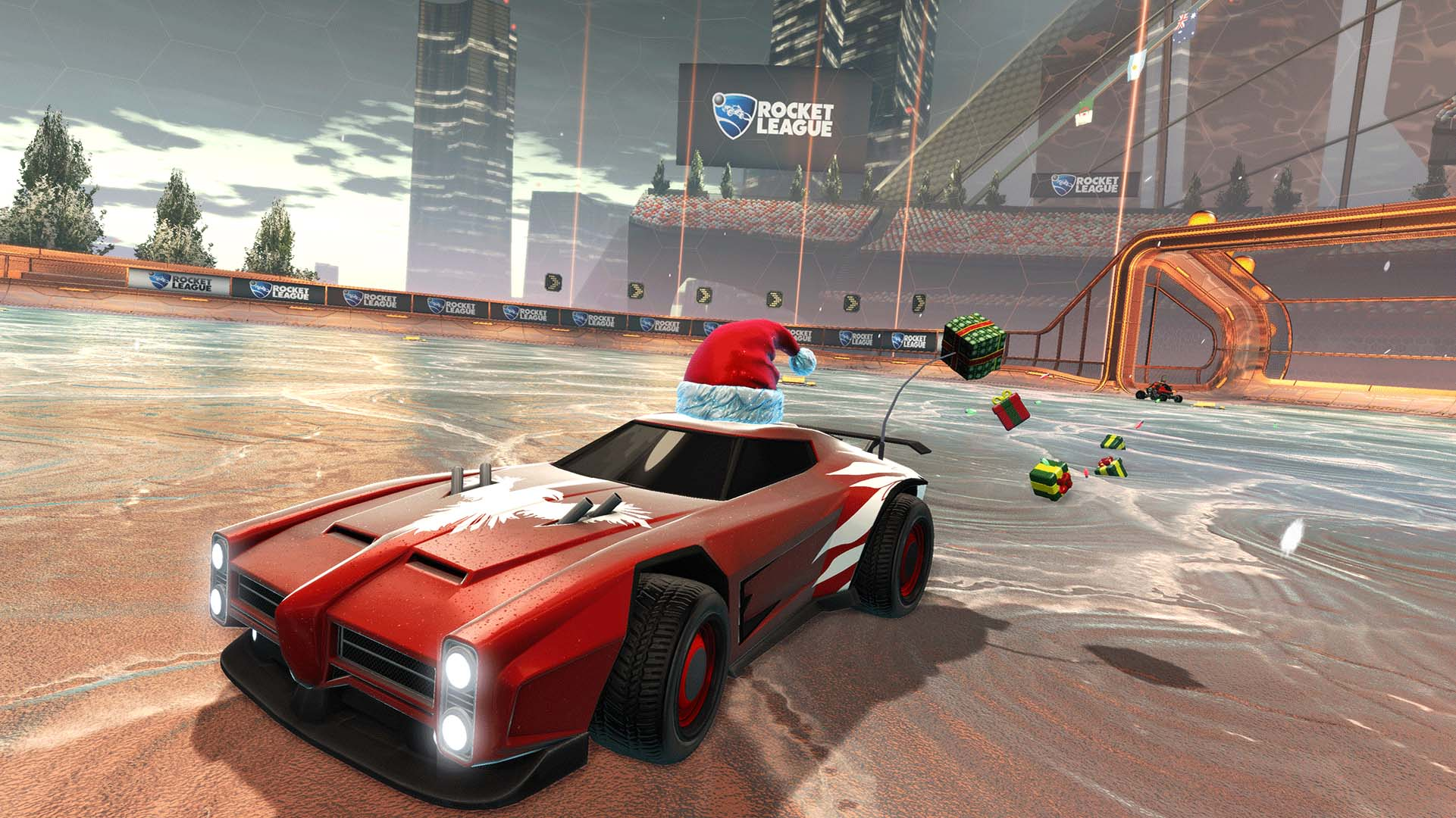 Rocketleague Garage Rocket League To Get Free Winter Gifts Pissed Off Geek
