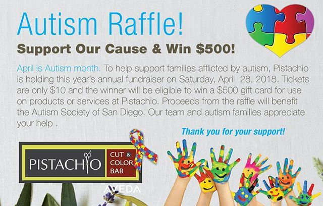 Autism Awareness holds a special place in our heart Stop in to