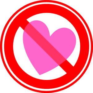 恋愛禁止 フリー素材