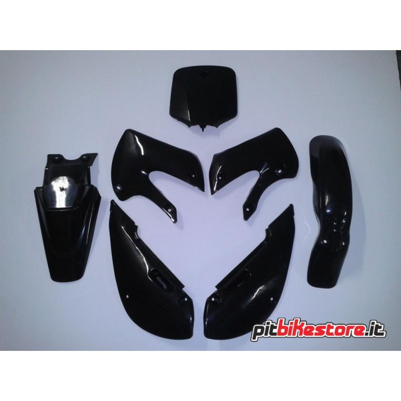 Set Plastics Klx Black