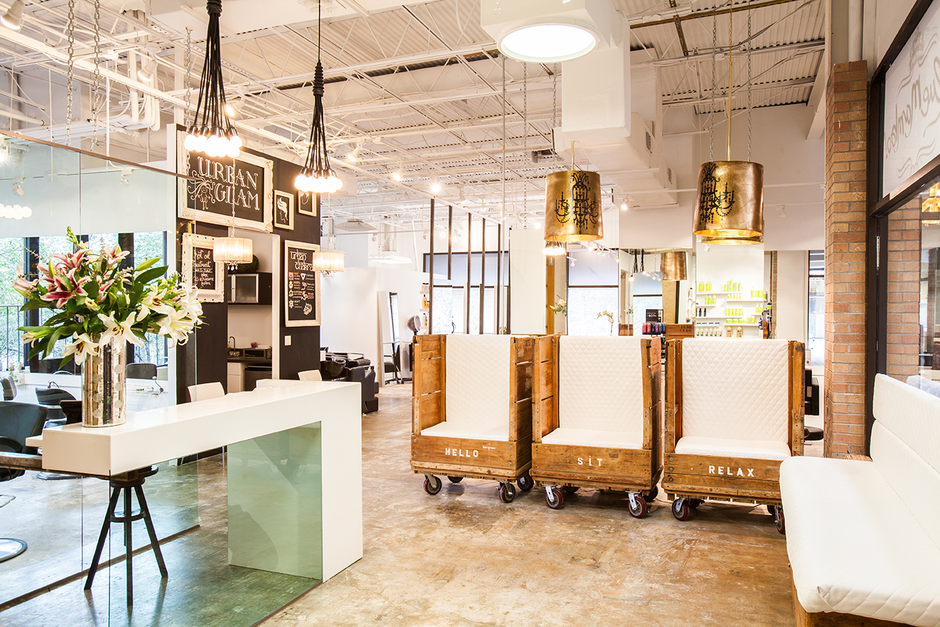 Salon Chic Blue Mambo Salon Unveils A New Earthy Chic Vibe And Relocates To