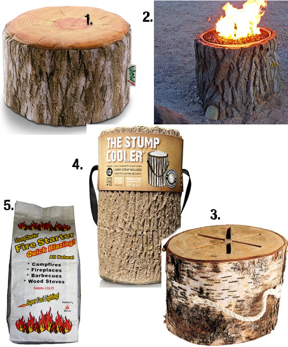 Friday 5: Stump Style