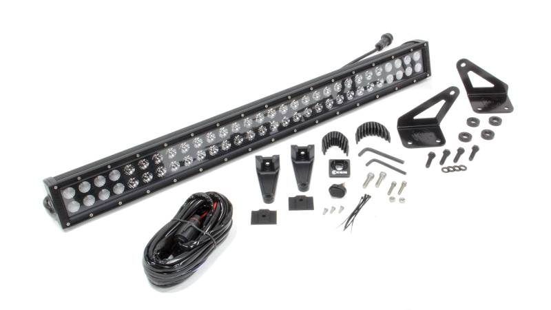 KC HiLiTES Hood Mount LED Light Bar Kit C Series 30\