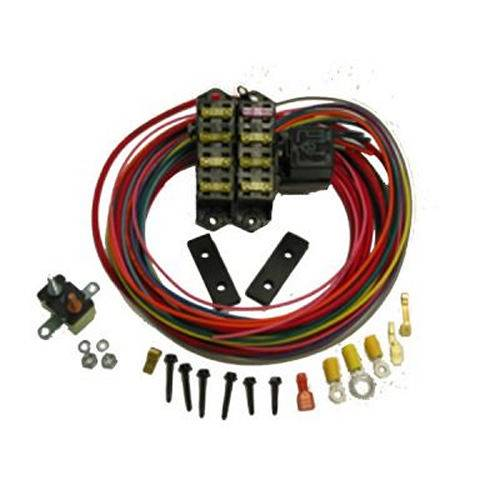 Painless Performance Products Auxiliary Fuse Block 7 Circuit Harness