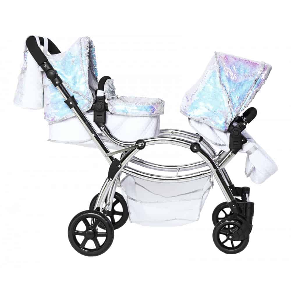 Infant Dolls Pram Roma Polly Amy Childs Twin Dolls Pram Mermaid 3 16 Years Pitter Patter Baby