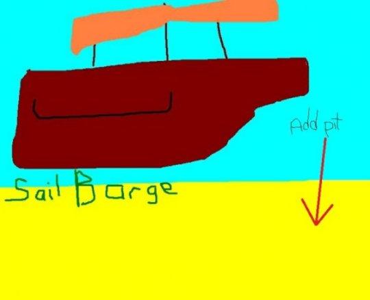 Sail Barge