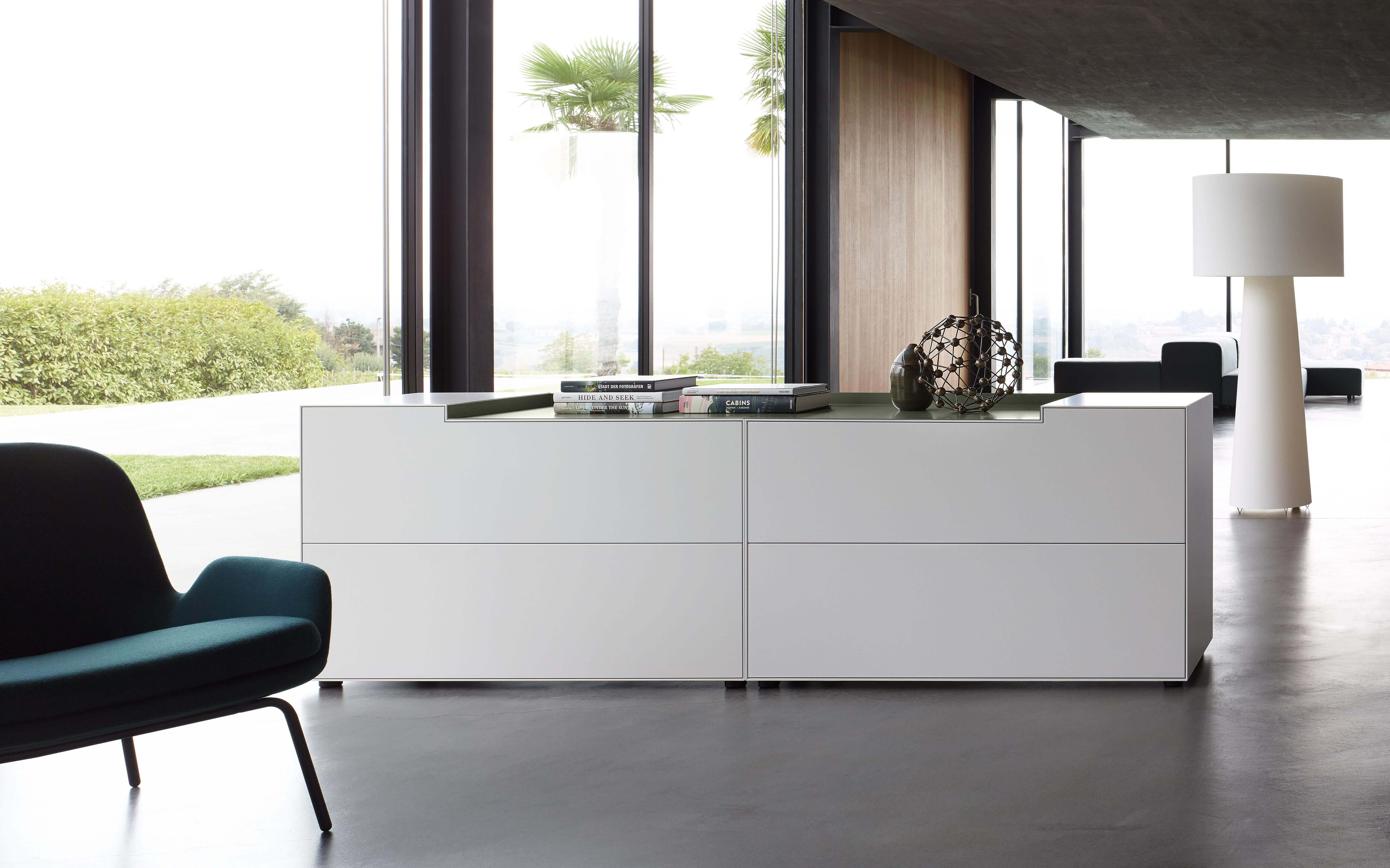 Sideboard 60 Cm Tief Piure Creating Living Space - Sideboard Nex Line Regal