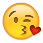 Kissy Face Emoji IPhone