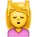 Massage Face Emoji