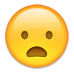 Emoji Face With Mouth Open
