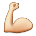 Arm Muscle Emoji