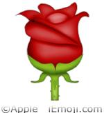 Emoji Rose