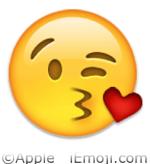 Heart Kiss Emoji Faces