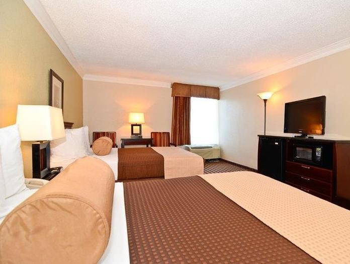 2 Queen Beds Smoking Best Western Johnson City Hotel and Conference Center