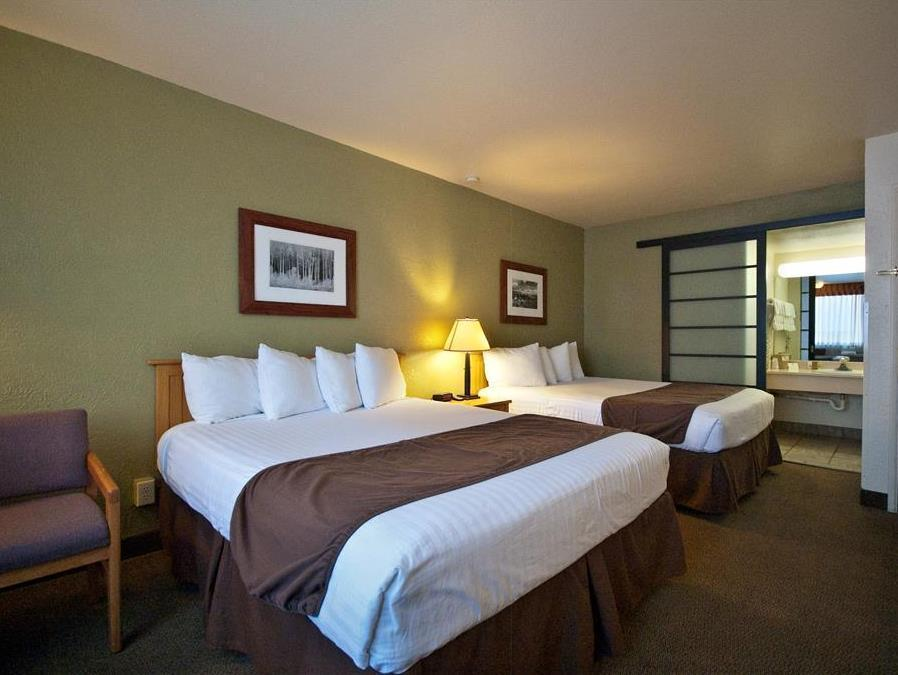 Hearing Accessible 2 Queen Beds Best Western Pony Soldier Inn and Suites