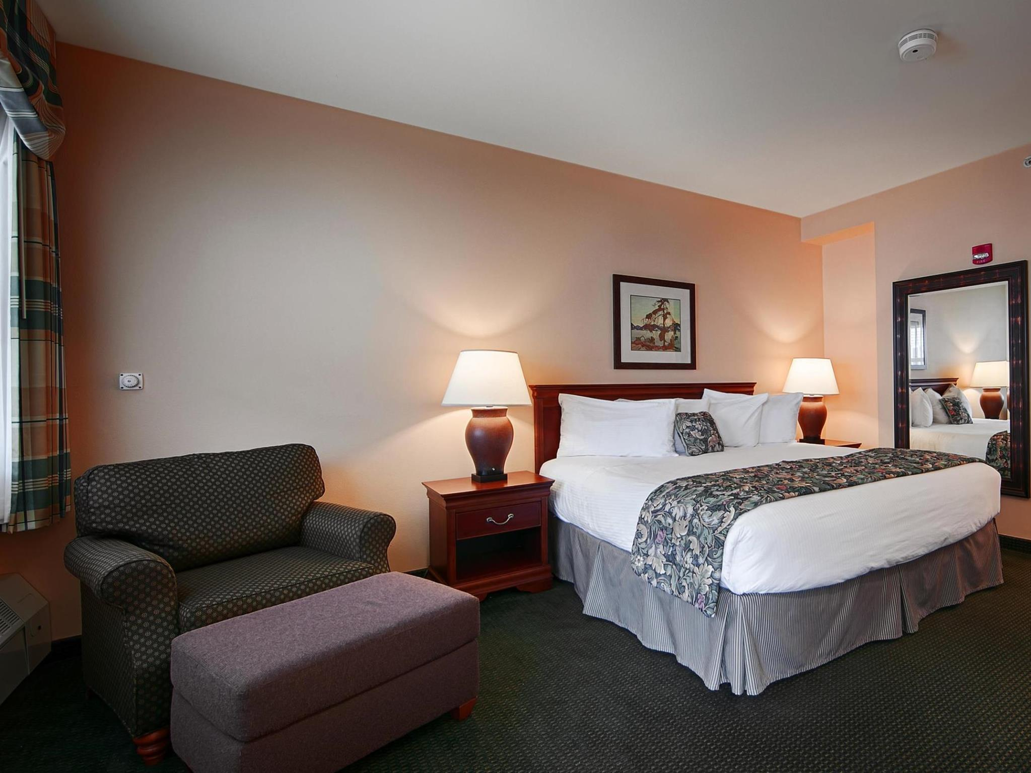 Accessible 1 King Bed Best Western PLUS Landing Hotel