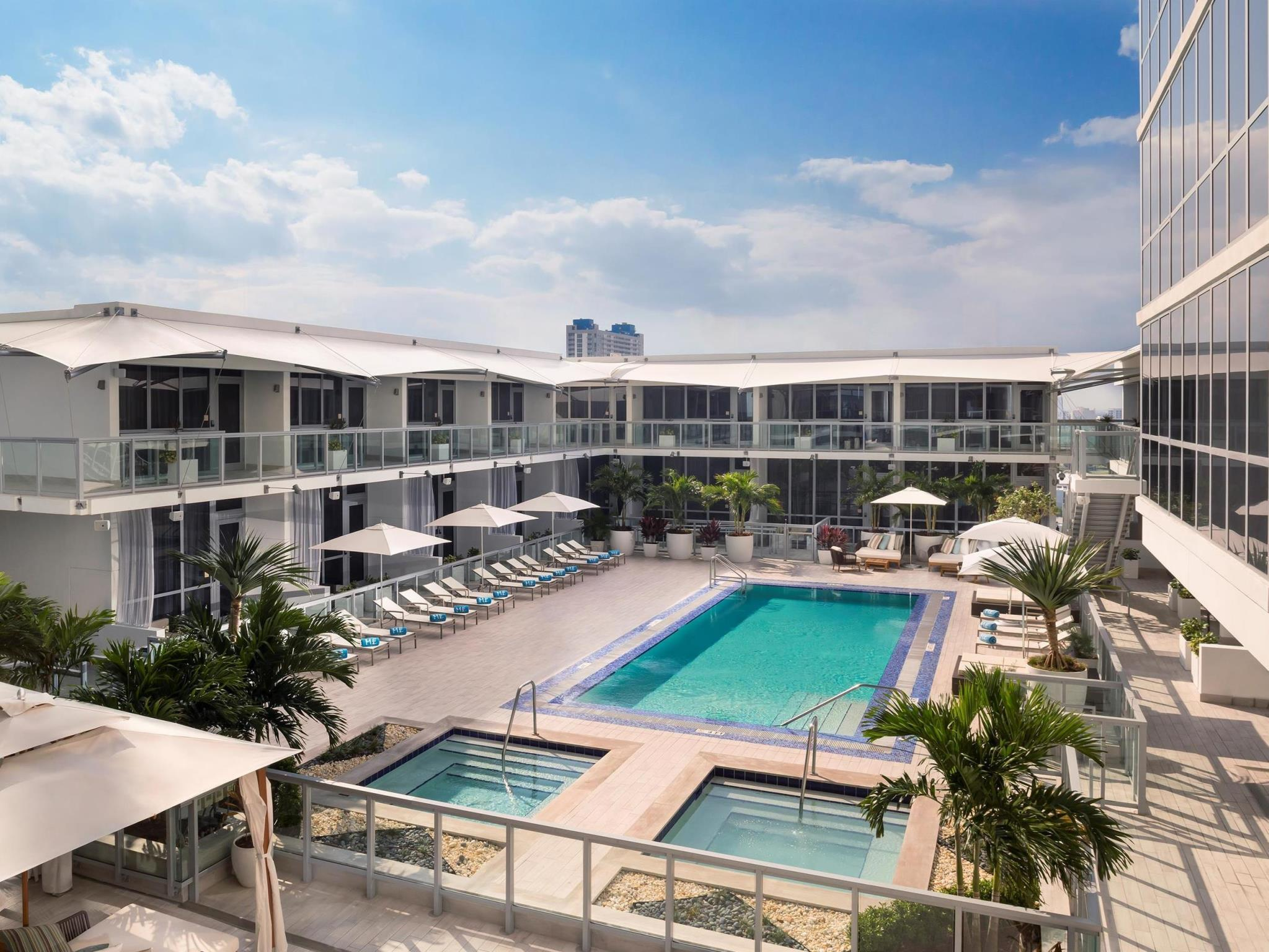 Miami Zwembad The Gabriel Miami Curio Collection By Hilton Miami Boek Een