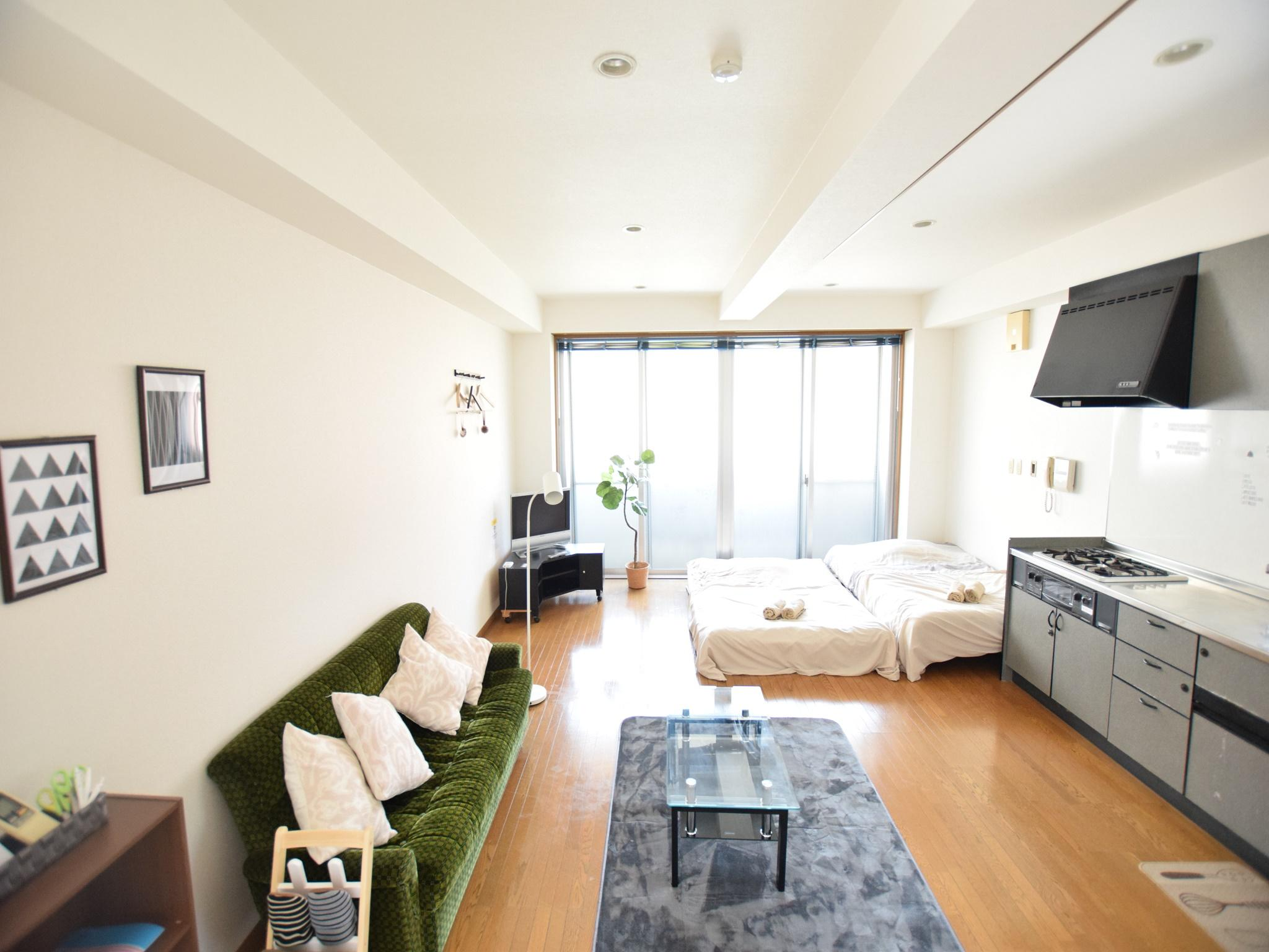 Abo Living At Home Best Price On Abo 2 Bedroom Apt Near Osaka Seaside C In Osaka Reviews