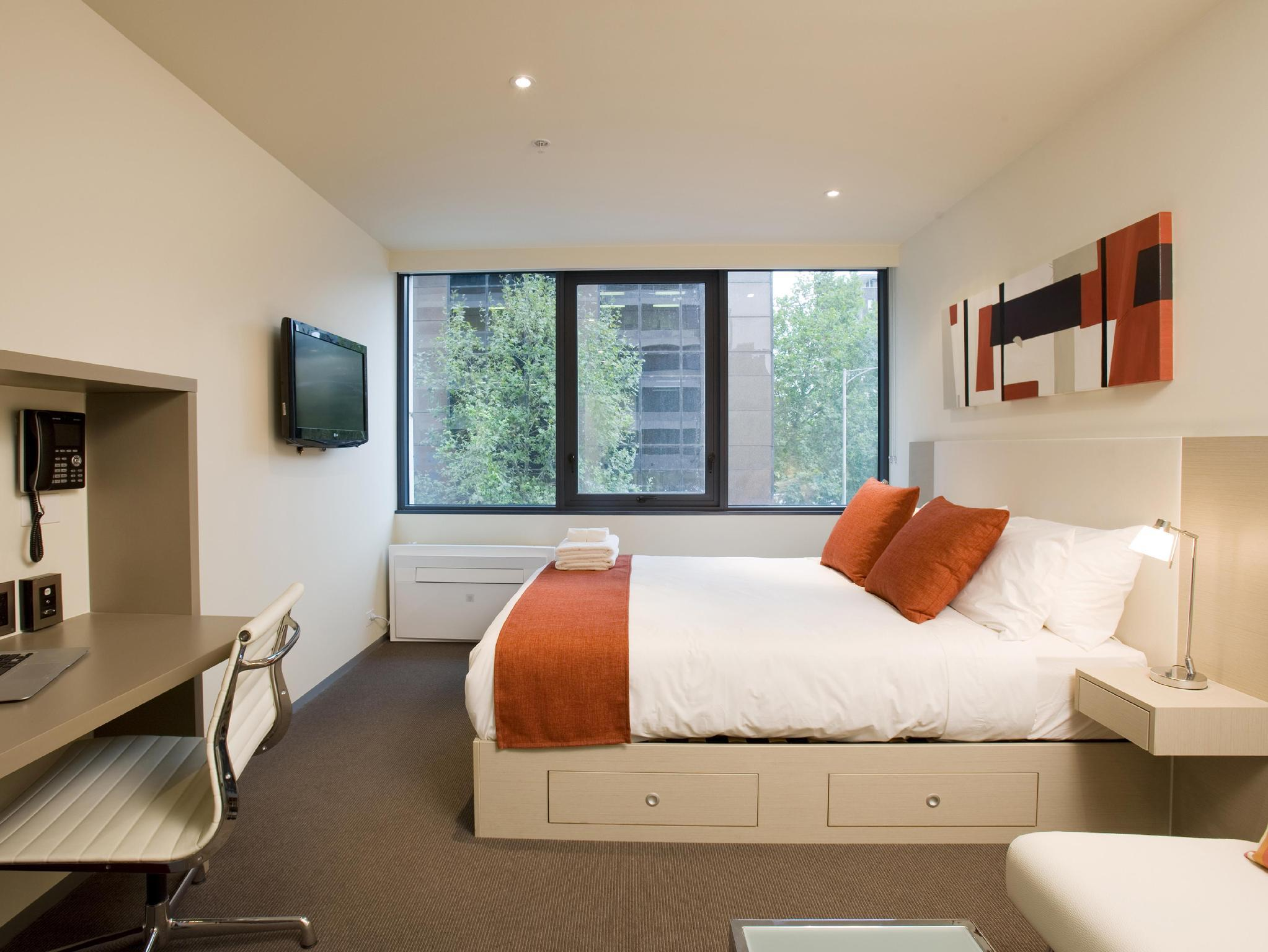 Studio Apartment Melbourne City Tempo Melbourne Cbd In Australia Room Deals Photos Reviews