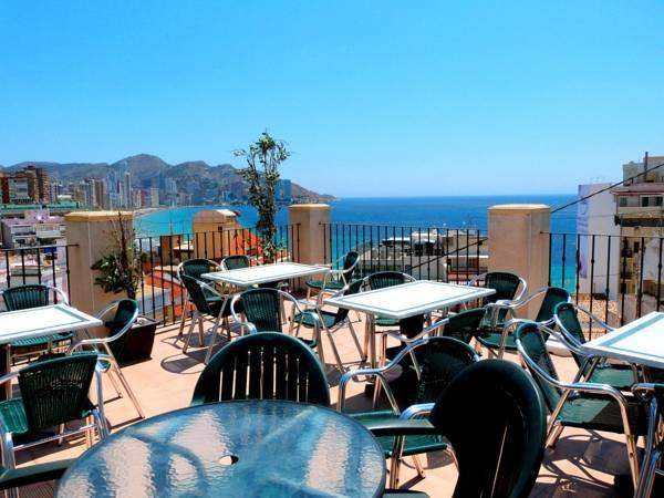 Toit Terrasse Hotel Nice Hotel Queens Adults Only By Mc In Benidorm Costa Blanca