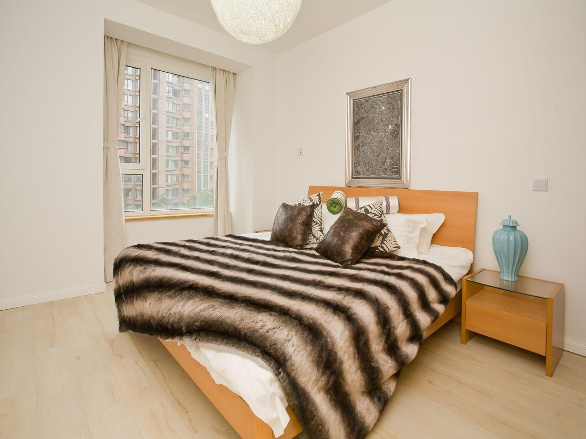 Landscape Schlafzimmer Das Yl International Serviced Apartment New Hong Qiao Landscape In