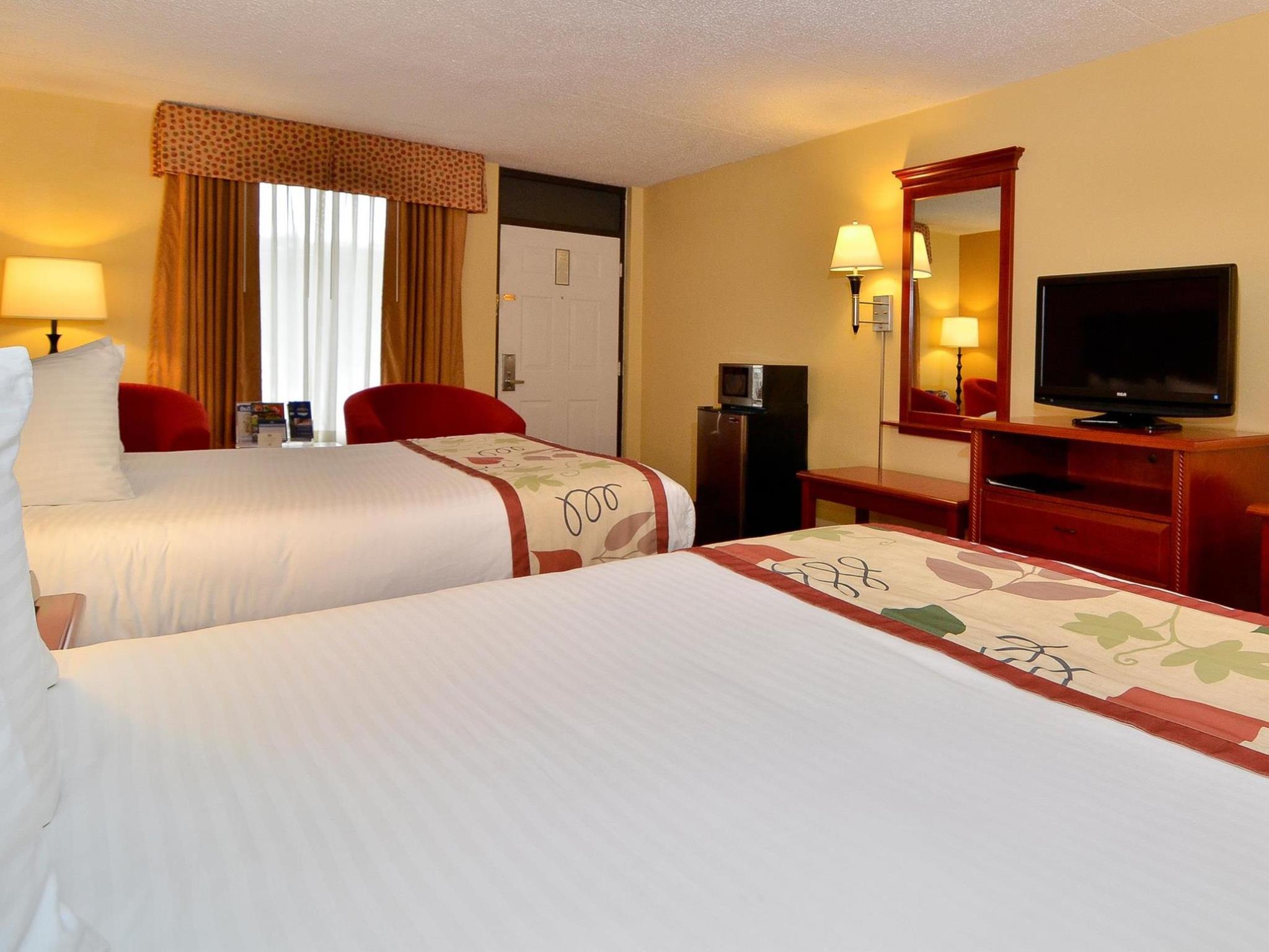 2 Double Beds Smoking Upstairs Best Western Corbin Inn