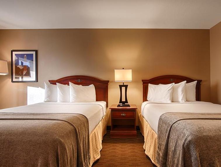 2 Double Beds Smoking Best Western Park Plaza Motor Inn