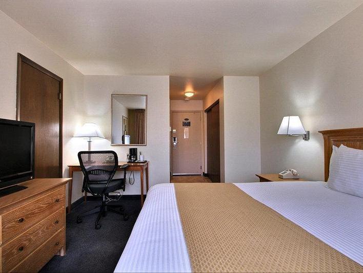 1 Queen Bed Best Western Woods View Inn