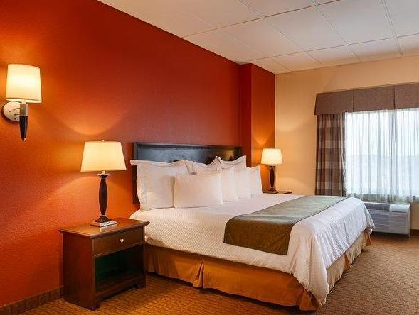 1 King Bed Deluxe Smoking Best Western Plus Hotel and Conference Center