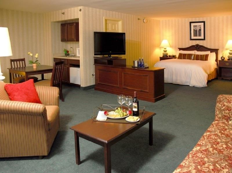 1 Room Suite Radisson Hotel and Suites Chelmsford Lowell