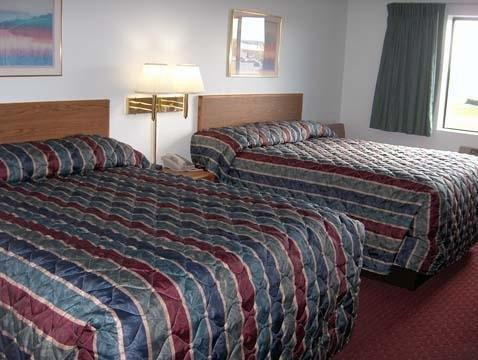 2 Queen Beds, No Smoking - Stay 5 & Save Rodeway Inn and Suites Spearfish