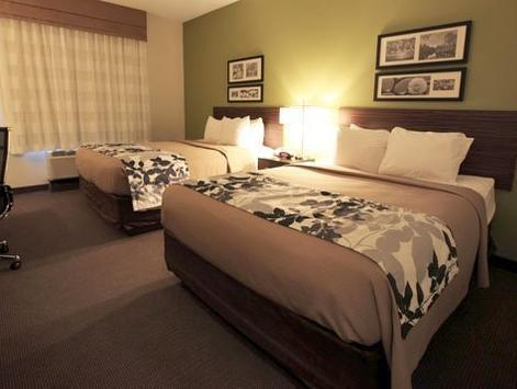 2 Queen Beds, No Smoking Sleep Inn & Suites Downtown - Convention Center