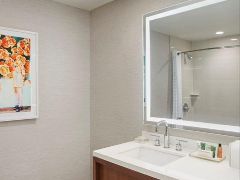 1 Kg City Vw Ri Shower Hilton West Palm Beach
