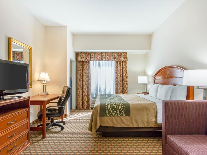 1 King Bed, Efficiency, Suite, No Smoking Comfort Inn and Suites Norman
