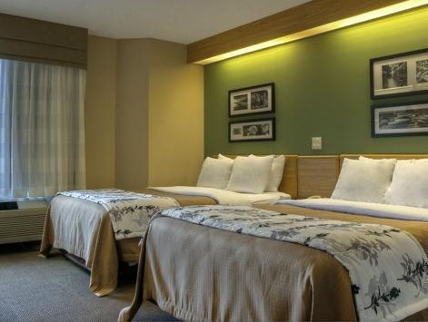 2 Double Beds, No Smoking Sleep Inn & Suites