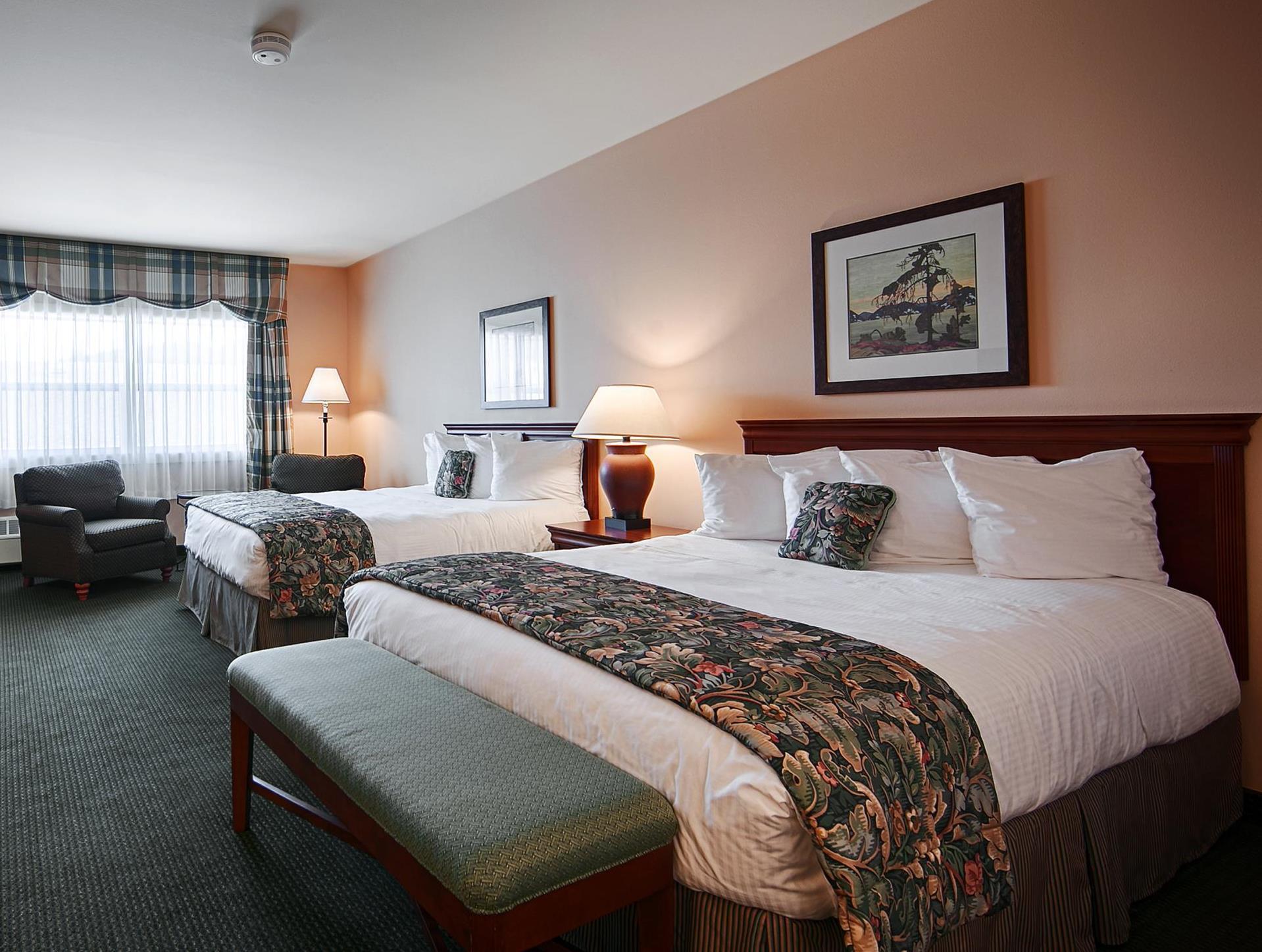 2 Queen Beds Accessible Best Western PLUS Landing Hotel