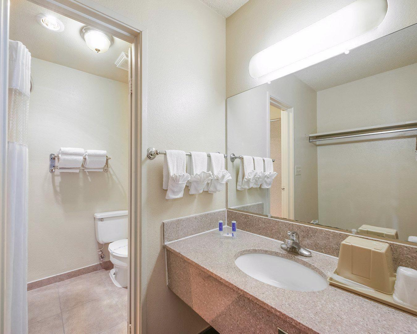 1 King Bed Suite No Smoking Rodeway Inn and Suites