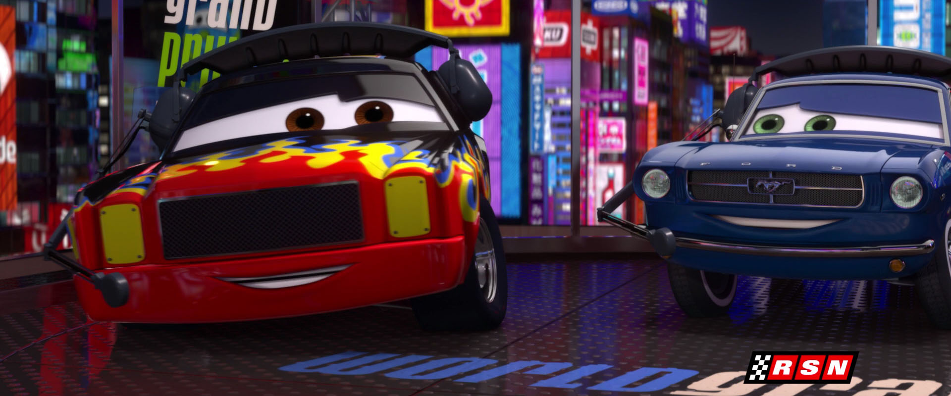 Cars 2 Wallpaper Lightning Mcqueen Darrell Cartrip Personnage Dans Cars Pixar Planet Fr