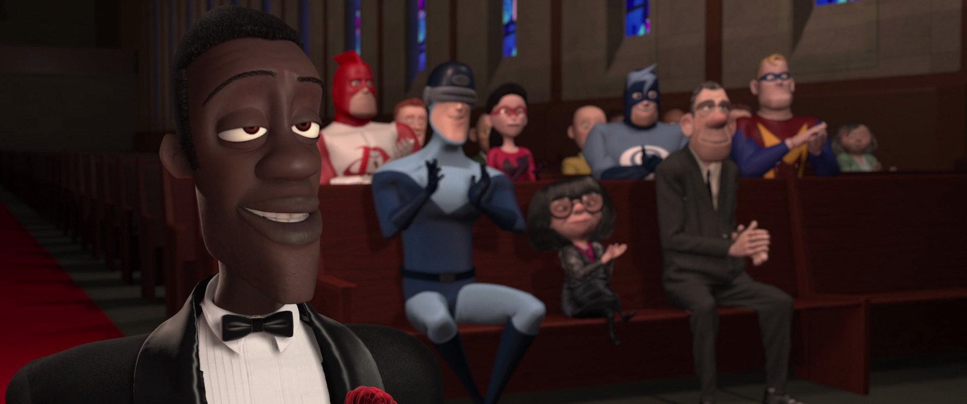 Police Officer Wallpaper Hd Meta Man Character From The Incredibles Pixar Planet Fr