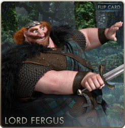 Brave Cards - Lord Fergus
