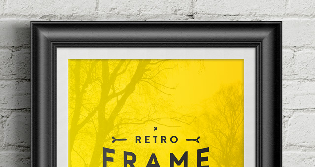 Mockup Iphone Video Psd Poster Frame Mockup Vol6 | Psd Mock Up Templates | Pixeden