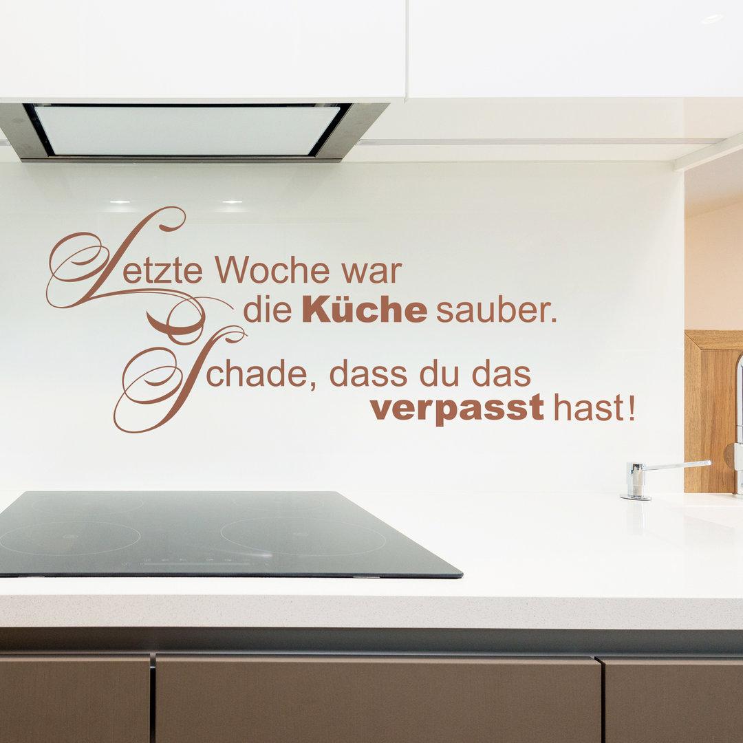 Wandtattoo Küche Witzig | Lustige Sprüche Küche Lustige ...