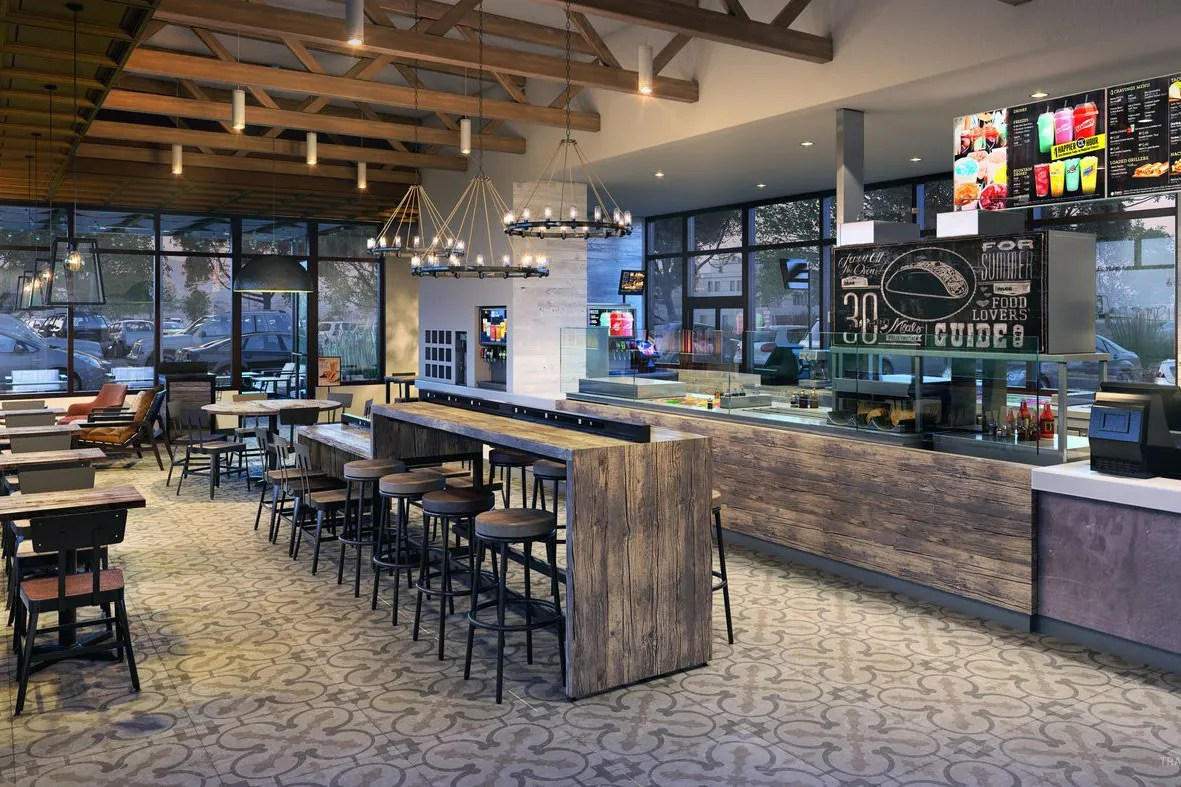 Resturant Stores Taco Bell Is Testing Upscale Store Designs