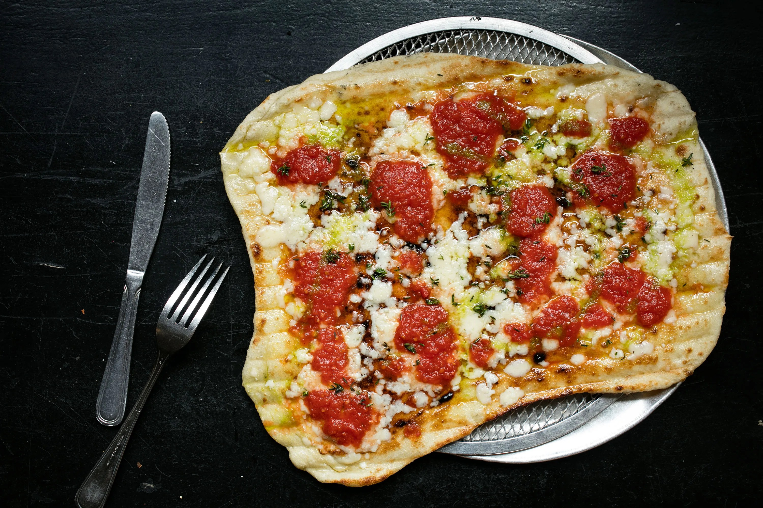 Restaurant Pizza Team Emily Tackles Rhode Island Style Grilled Pizza In Nyc