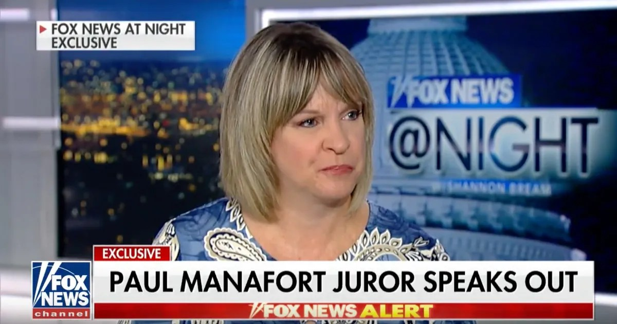 Manafort Juror One Holdout Kept Him From Being