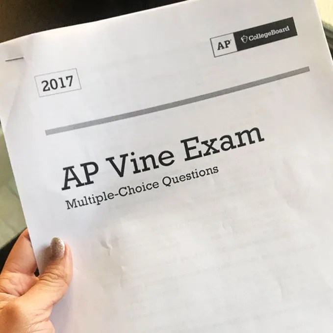 Take the Vine AP Test