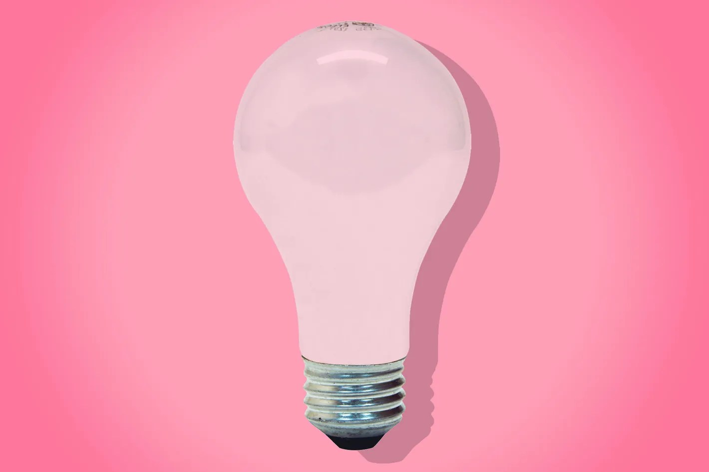 Buy Lightbulbs Pink Light Bulbs Are My Secret Apartment Decorating Tip