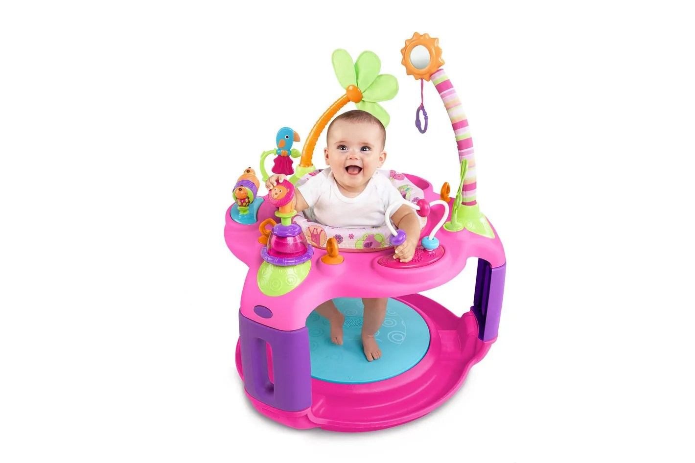 Baby Activity Center Bright Starts Sweet Safari Bounce A Round Activity Center