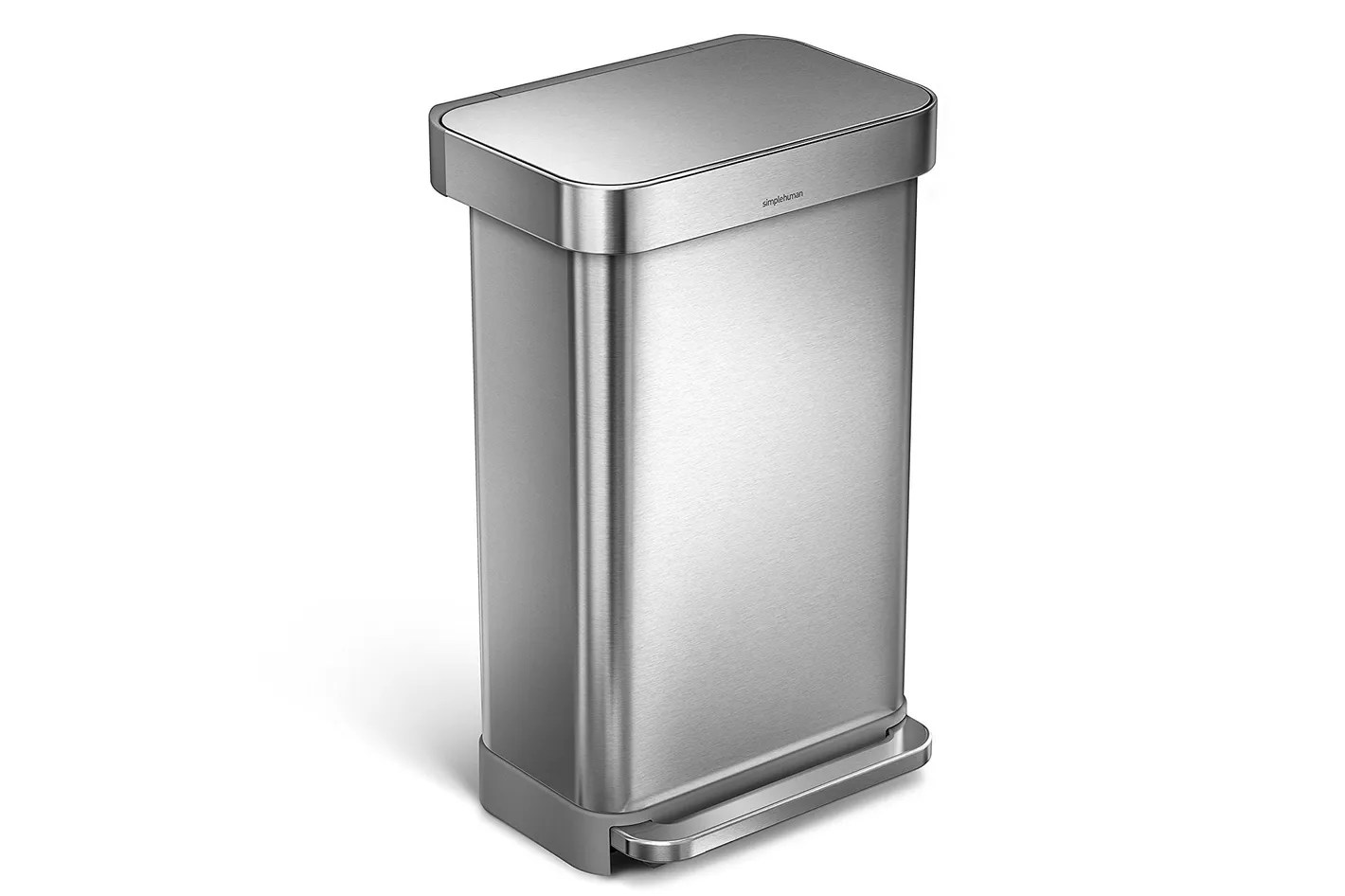 Small White Trash Can With Lid 13 Best Kitchen Trash Cans 2019