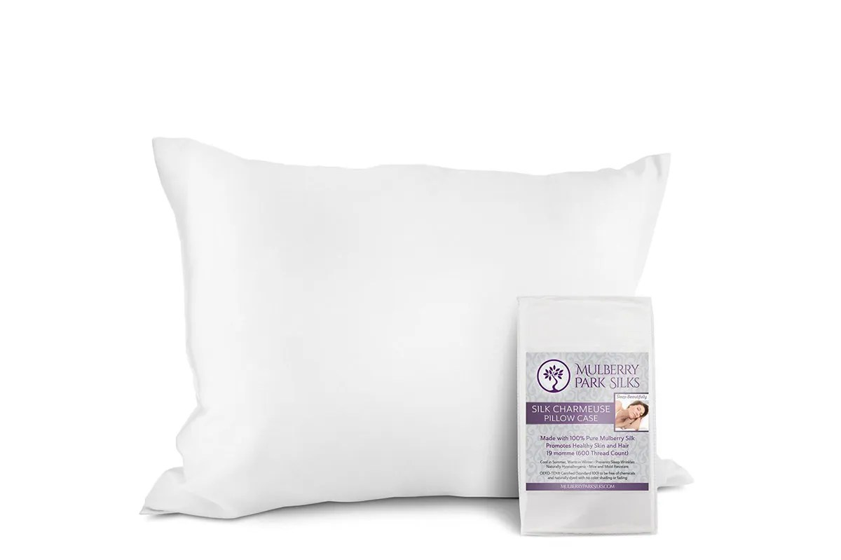 Slip Pillowcase Mulberry Park Silks Pure Silk Pillowcase